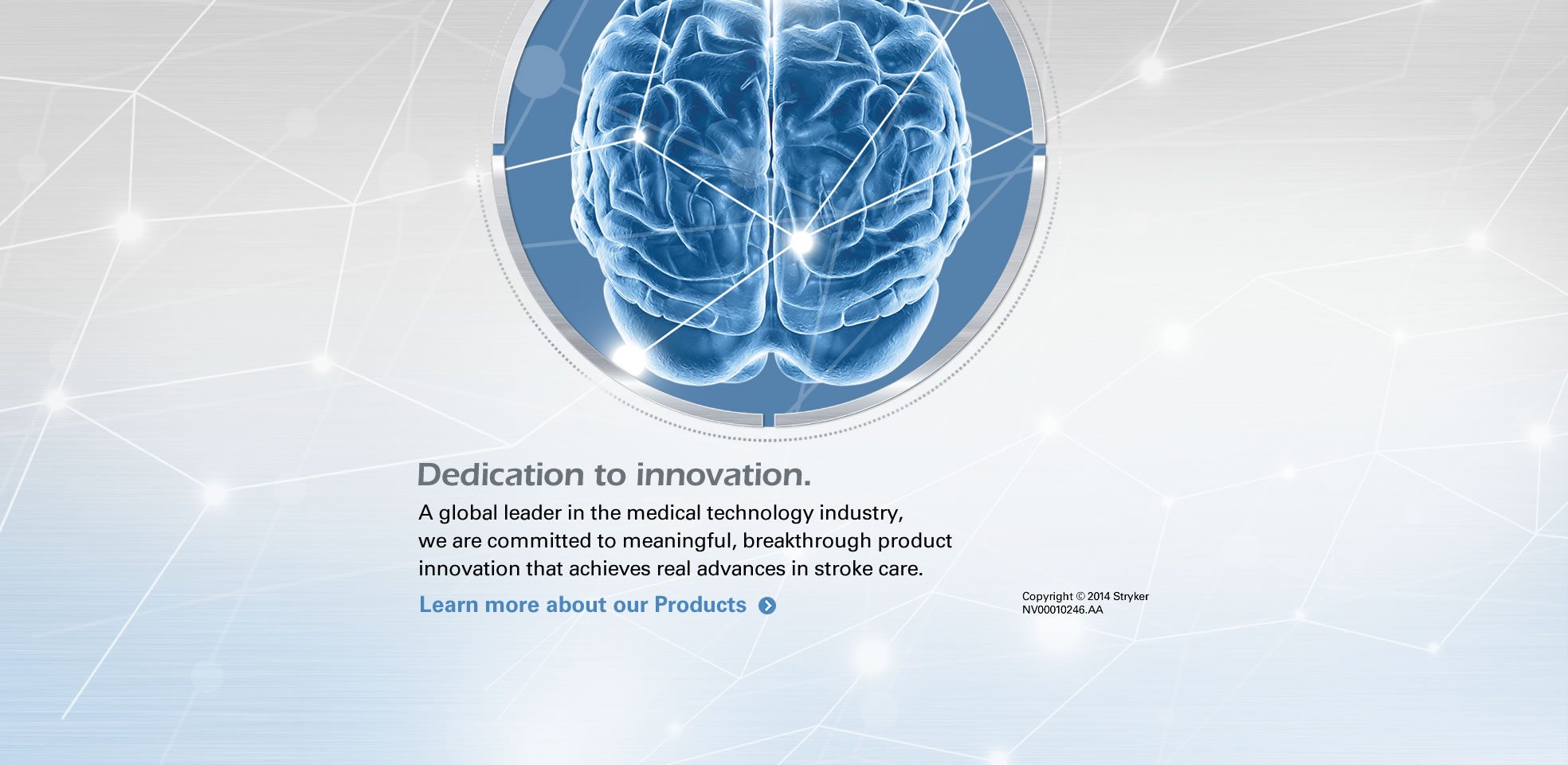 Dedication to innovation. Learn more about our products.  | Click for More
