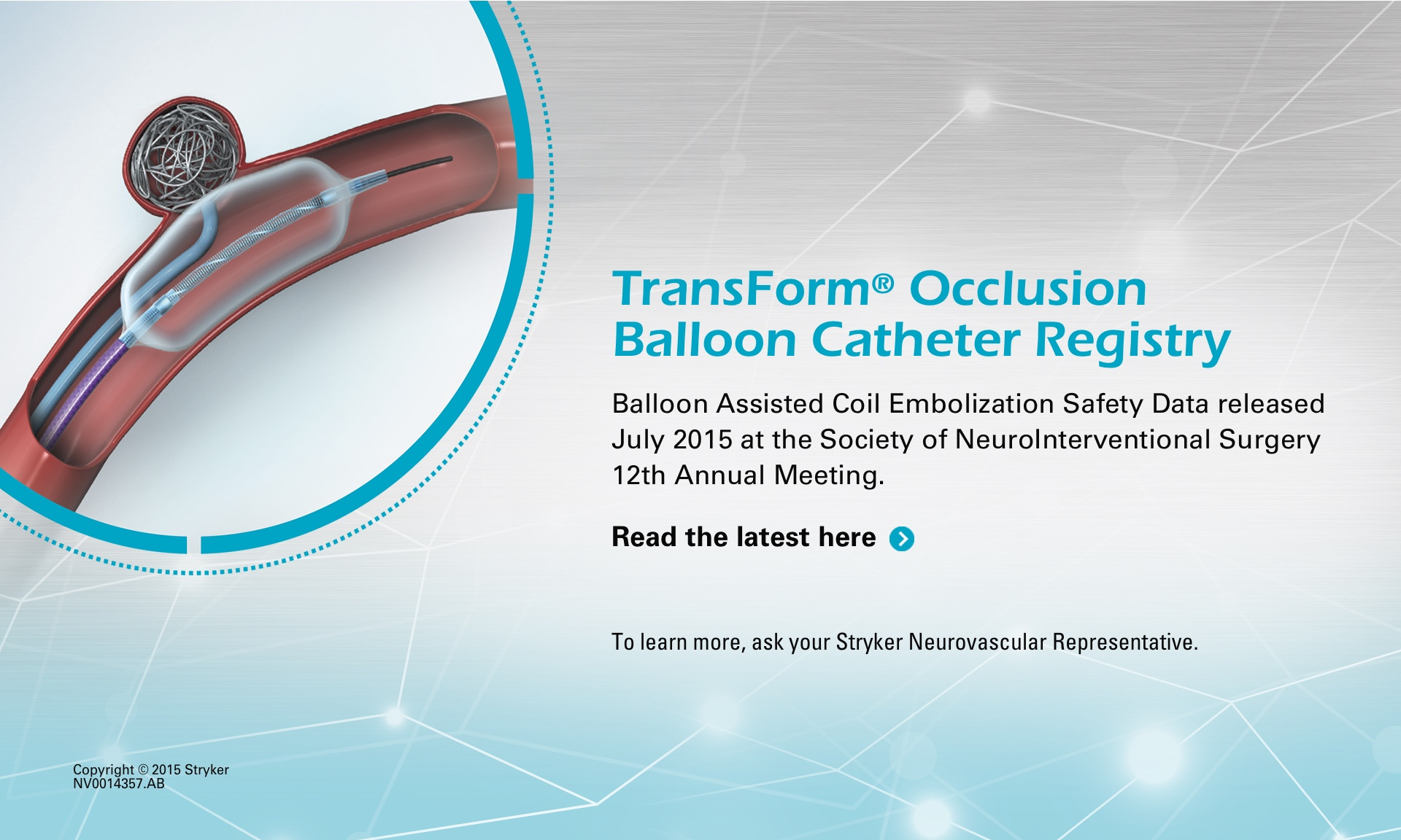 Balloon Assisted Coil Embolization Safety Data released July 2015 | Click for More